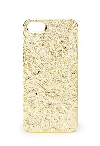 Crushed Metallic Phone Case | FOREVER 21 - 1000071351
