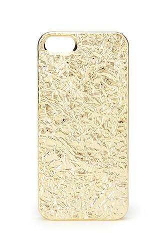 Crushed Metallic Phone Case | FOREVER 21 - 1000071351