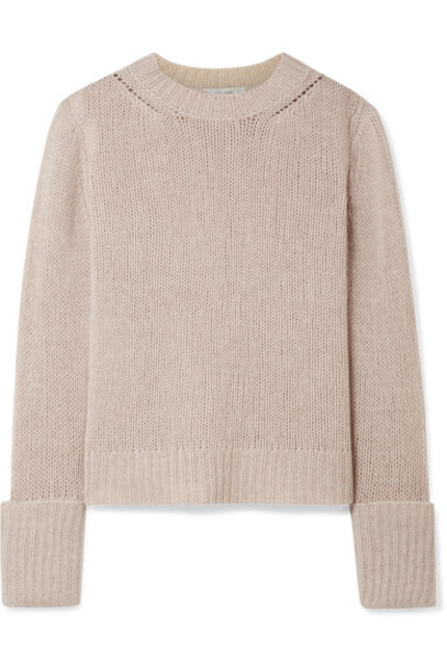 The Row sweater beige
