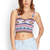 Tribal Print Bustier Crop Top | Shop All | Clothing | Women - 2000121830 | Forever 21 EU