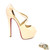 High Heel Nude - Platform High Heels