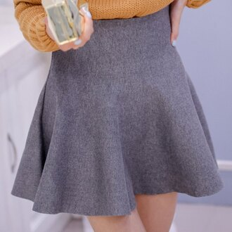 skirt rose wholesale girly grey cute