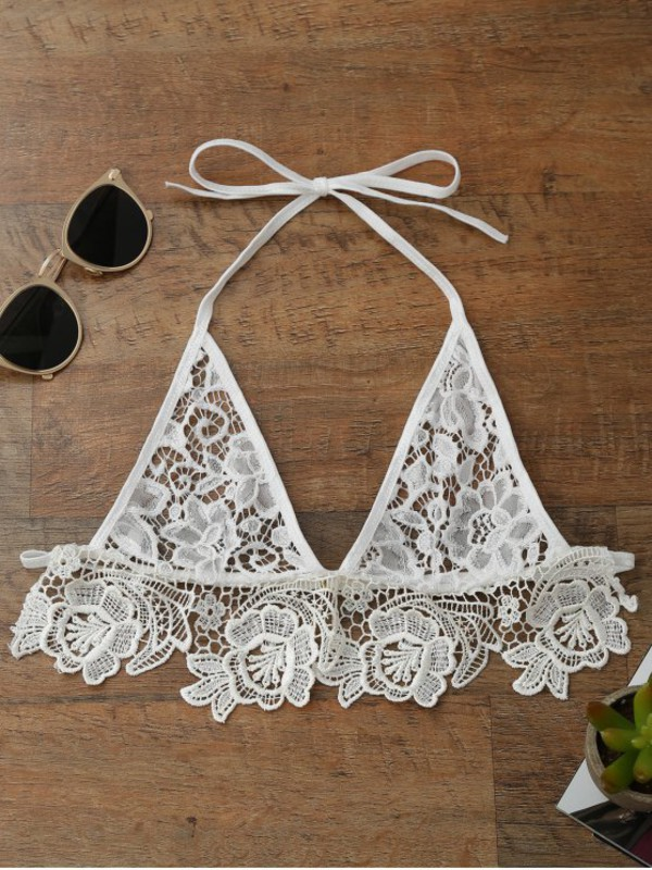 top bra fashion style lace lingerie