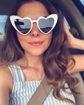 sunglasses,eyewear,sunnies,heart sunglasses