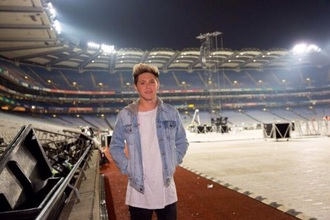jacket shirt denim hoodie niall horan white shirt jeans