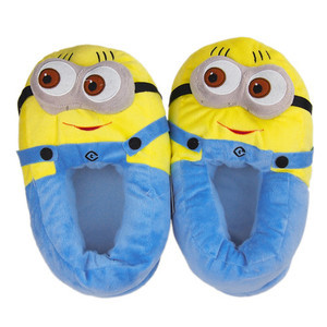"Despicable ME Minion Jorge 11"" Shoe Plush TOY Doll Slippers ONE Size Free shipping on Aliexpress.com"