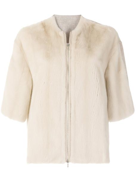 jacket fur jacket fur women nude wool