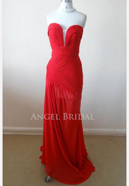 dress red dress prom dress red prom dress long prom dress