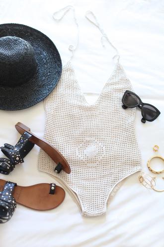 b a r t a b a c blogger swimwear jewels sunglasses hat shoes bag top shorts