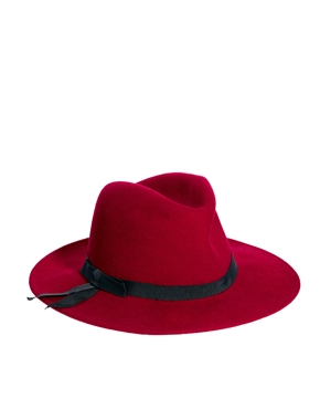 Laird | Laird V Crown Fedora Hat at ASOS