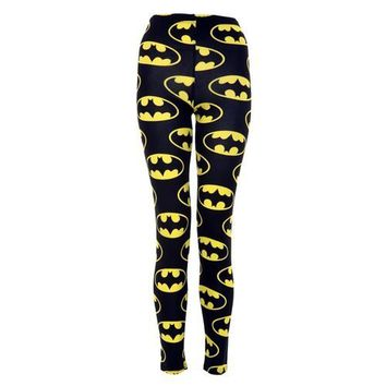 Vip Women's Full Length Batman Leggings on Wanelo