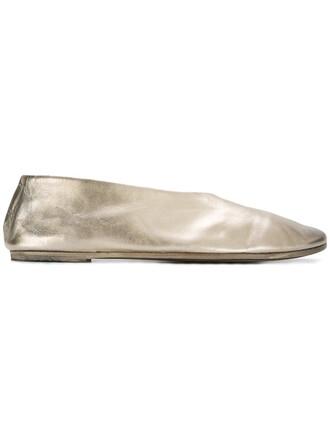 metallic women shoes leather nude