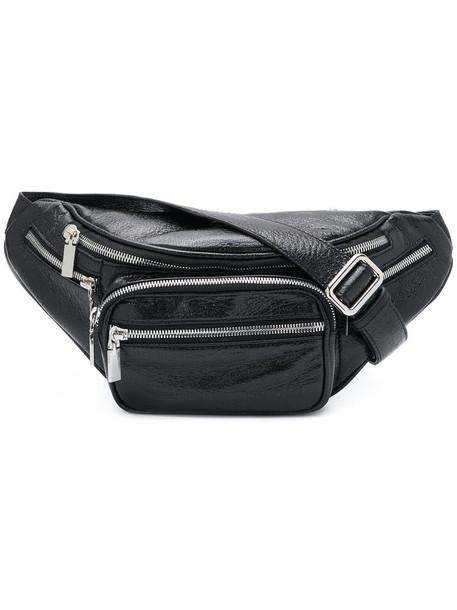 Manokhi women bag shoulder bag leather black