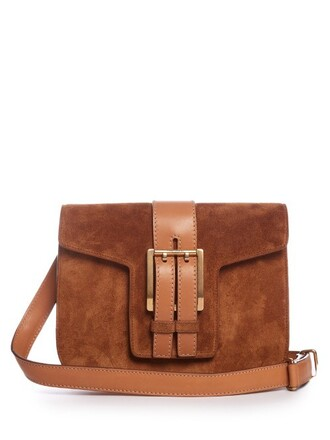 cross high high school bag suede tan