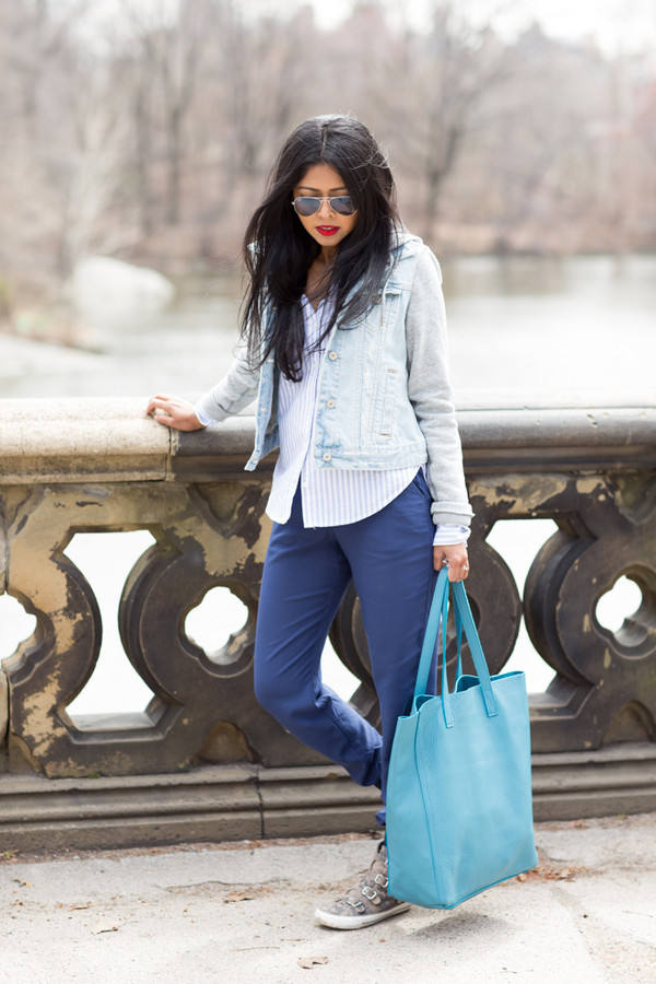 walk in wonderland shirt jacket pants bag shoes jewels sunglasses