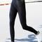 Black high-waist leggings