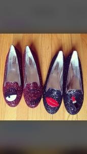 shoes,chiara ferragni,flats