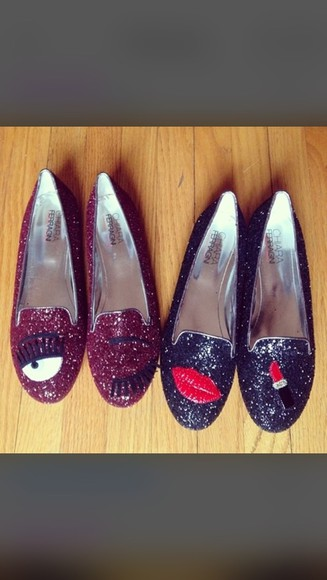 shoes flats chiara ferragni