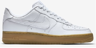 shoes nike nike shoes nike air nike air force 1 white nikes gum sole trainers nikes trendy nike air force