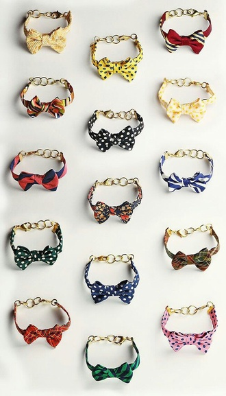 jewels bows accessories pattern