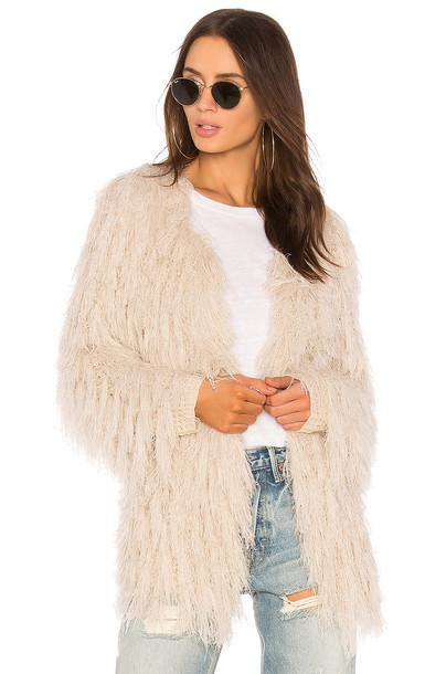 ASTR cardigan cardigan blush sweater