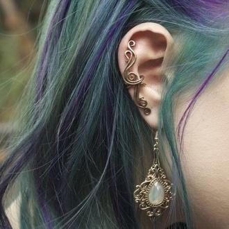 jewels earrings ring vintage