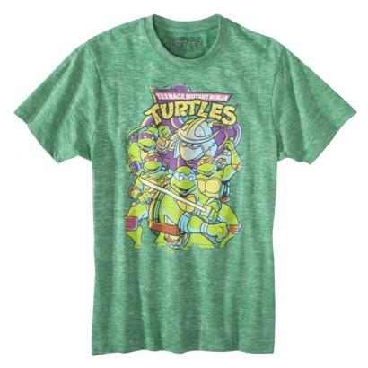 Men's Teenage Mutant Ninja Turtles Burnout Graph... : Target