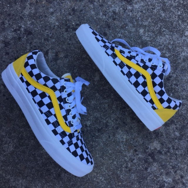 reasonable price new style of 2019 coupon codes Yellow Checkered Custom