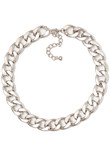 Molly chain necklace silver