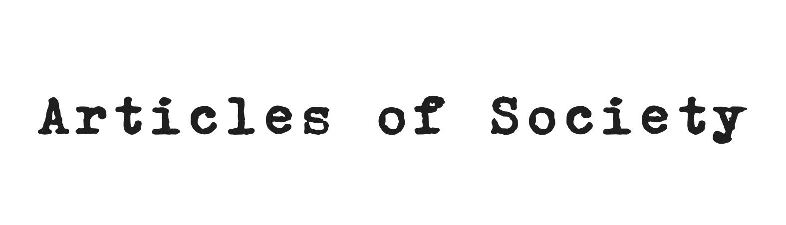 Articles of Society - Los Angeles Denim Brand