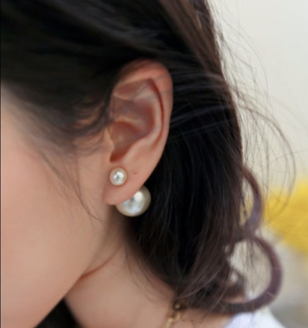 Aliexpress.com : buy hot sale 2014 new arrival fashion earring vintage brief double pearl stud earring best service from reliable gift express suppliers on shenzhen gache trading limited