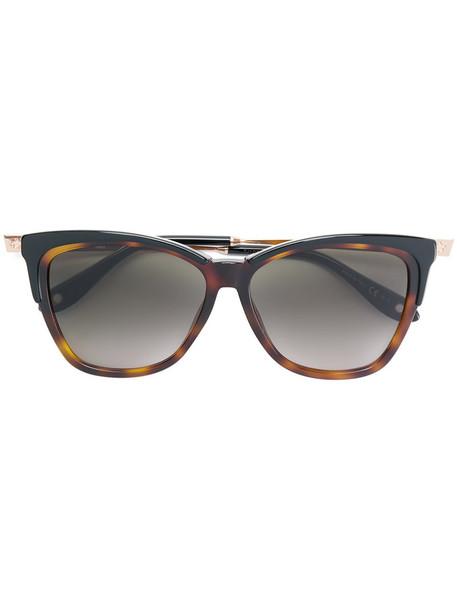 Givenchy Eyewear metal women sunglasses brown