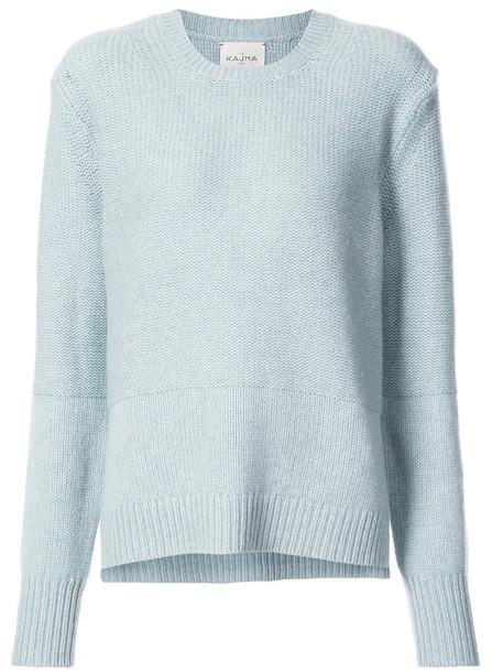 Le Kasha jumper women blue sweater