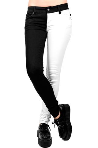 Tripp NYC Split Leg Jeans  - TrashandVaudeville.com