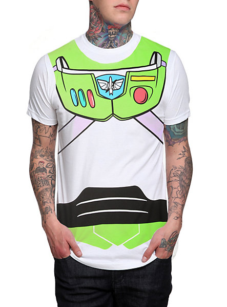 Disney toy story buzz lightyear costume t