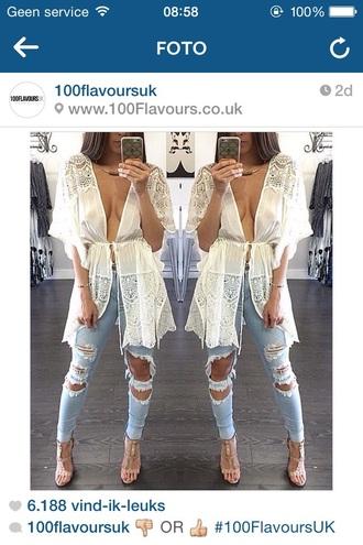 blouse nude coat coat vest jacket white creme streetwear classy style dope white creme white coat long coat