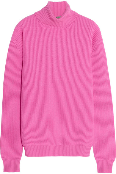 Bottega Veneta | Ribbed cashmere turtleneck sweater | NET-A-PORTER.COM