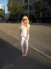 a spoonful of style,t-shirt,jeans,shoes,bag,jewels,sunglasses