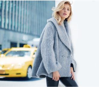 jacket winter coat faux fur winter season woolen coat