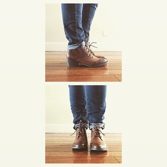 shoes boots ankle boots brown shoes heel bootie