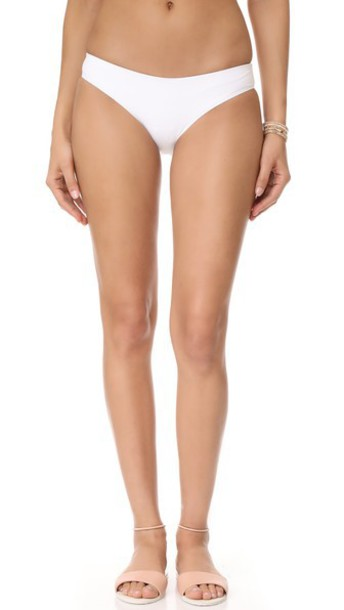 Tavik Swimwear Ali Moderate Bikini Bottoms in white