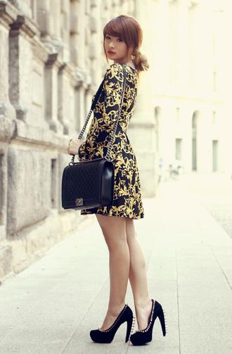 brown platform dress shoes