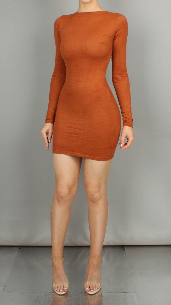Goals Suedette Mini Dress