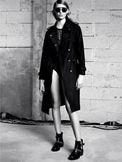 coat,sandro,f/w 2013,lookbook,fashion,tank top,shoes