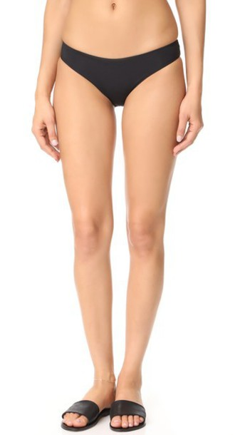 Tavik Swimwear Ali Moderate Bikini Bottoms in black