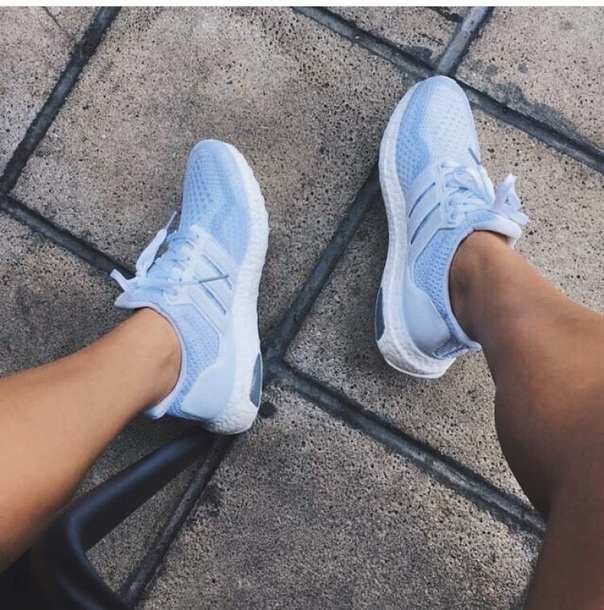 shoes, new balance, blue, purple
