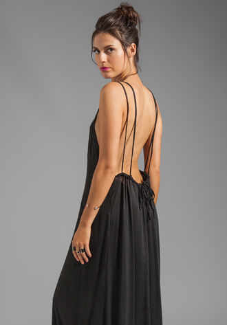 dress party dress clothes long open back dress long dress backless dress backless maxi dress
