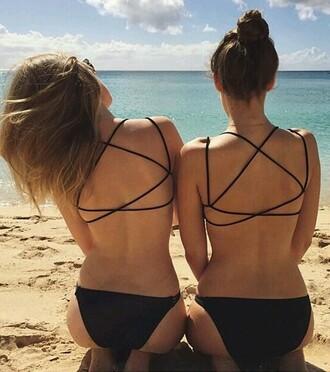 swimwear black swimwear hipster swimwear