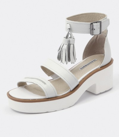 Chunk White by Windsor Smith Shoes Online from Styletread