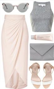 skirt,wrap skirt,shirt,shoes,sunglasses,bag,make-up,summer outfits,mid heel sandals,baby pink slit maxi,rose skirt,maxi skirt,midi skirt,nude,beige skirt,blush pink,pink,blush,summer,spring,long skirt,polyvore,top,shorts,crop tops,perfum,dress,fashion,style,grey,women,skin,accessories,glasses,gloves,cream color,salmon,baby pink,maxi,spring skirt,blush nude pink,long,baby pink skirt with an opeening,classy,champagne,slit skirt,grey halter top,beige,nude skirt,high low skirt,wrap,colorful,any color,gray crop top,halter top,halter neck top,pastel pink,pinterest,pink wrap skirt,light pink,high waisted,asymmetrical,thigh high slit,slit,high low,blush maxi skirt,pink skirt,blush pink skirt,pink cross skirt,grey top,fitted skirt,tank top,grey tank top,tulip skirt,draped skirt,coat,army green jacket,pretty in pink,asymetrisch,outfit,mirrored sunglasses,sandals,any,blouse,light pink skirt,minimalist jewelry,baby pink wrap skirt,grey crop top,bergundy,fall outfits,paris,beach,hipster,coachella,lavendar,prom,girl,boho,chic,strappy,open back,maxi open back dresses,dope,pink blush polvyore skirtt,spring maxi skirt,brand